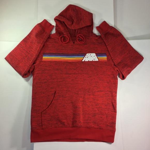 Star Wars Red Sweatshirt Hoodie